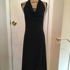 Beautiful Black Halter Dress